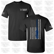 United States Navy US Armed Forces Military Veteran Soldier Support T-Shirt Tee
