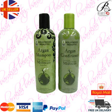 Hollywood Beauty Moroccan Argan Oil Hair Growth Shampoo and Conditioner Set 355