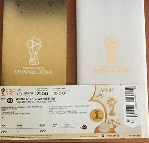 VVIP Ticket France Belgium FIFA World Cup 2018, rare