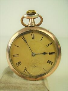 Antike Taschenuhr 800 Silber um 1900