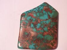 "High Grade Natural Royston Turquoise cabochon, 1,162.5cts   4 1/4""L X 3 1/4"" W"