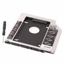 """Second HDD SSD Hard Drive Caddy Tray for Apple MacBook Pro 15"""" Unibody Mid 2010"""