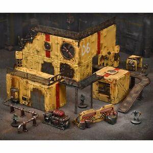 Terrain Crate - Industrial Zone NEW Scenery Miniatures Warhammer 40K Terrain