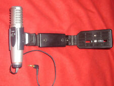 Sony Camera Grip + Stereo External Directional Amplified Powerered Microphone