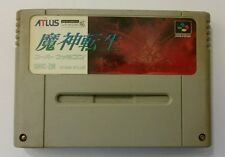Majin Tensei (Super Famicom, SNES Japan) Cleaned/tested/works (US Seller)