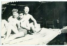 1950s Three Men Beach Sea Resort Nudes  Russian photo