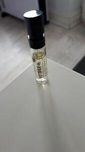 Le Labo Vetiver Perfume Sample 1.5ml EDP Spray New