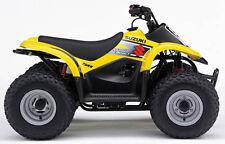 SUZUKI LT-A50 Quadmaster ATV Service ,Owner's and Parts Manual CD