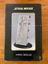 Han Solo Carbonite Attakus Statue Mint/New (1:5 Scale) Millennium Falcon X-Wing