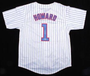 Ed Howard Signed Chicago Cubs Jersey (Beckett COA) 2020 1st Rnd Pk / Shortstop