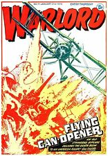 WARLORD COMIC/ MAGAZINE. ISSUES 1 to 627. On Disc with viewing Software.