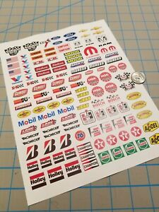 New RC Scale Racing Decals No.1 for TAMIYA HPI LOSI KYOSHO 1/8 1/10 1/12