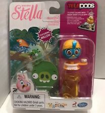 Angry Birds Stella Telepods Willow Figure Hasbro Rovio Game Blue Bird NEW