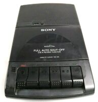 Vtg Sony Portable Cassette Tape Recorder Player TCM-929 Auto Shut Off FOR PARTS