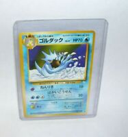 Japanese Pokemon Card #055 Golduck  1996 Nintendo