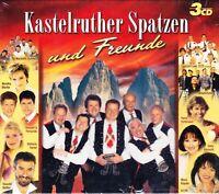 3 CD Kastelruther Spatzen und Freunde - 3 CD-Box - Koch - NEU/OVP 2008