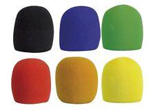 DAP 6 paquete de micrófono parabrisas Colores Surtidos MICRÓFONO PARABRISAS ESPUMA Muff