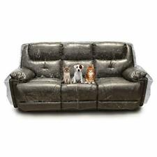 Besti Plastic Couch Cover for Pets – Clear Slipcovers for Sofa 96x42x40