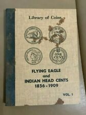 Library of Coins Flying Eagle & Indian Head Cents 1856-1909, Vol. 1-No coins