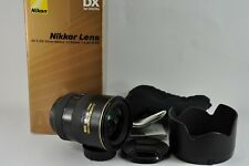 Nikon AF-S DX G IF - 17-55mm F/2.8 DX ED ED Lente Af-s-En Caja