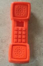 Vintage Fisher Price Fun with Food Kitchen Replacement Orange Phone