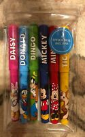 SET 6 STYLOS BILLE / BALL PENS MICKEY Disneyland Paris
