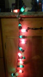 red and green shotgun shell lights 20 lights