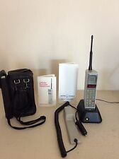 Rare Vintage Motorola Dynatac 8000S Thick Brick Cell Phone Has 8000x Display