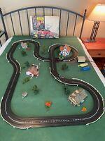 Aurora Stirling Moss Slot Car Set #1995 w/ cars  - works