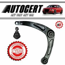 PEUGEOT 307 01> FRONT LOWER CONTROL ARMS / WISHBONES & BALL JOINTS - LEFT HAND