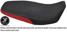BLACK & D RED VINYL CUSTOM FITS JIALING JH125-33 05-08 DUAL SEAT COVER