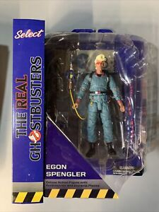 Diamond Select Toys - The Real Ghostbusters - Egon Spengler - Diorama Piece NIB