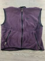 Womens The North Face Jacket Fleece Vest Full Zip  Large Made in USA Vintage
