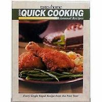 Taste of Home Quick Cooking Annual Recipes 2009 Hardcover