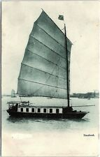Postcard China Hong Kong Hausboot Native Houseboat House Boat V30
