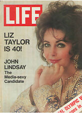 LIZ TAYLOR JOHN LINDSAY SPECIAL OLYMPIC WINTER SAPPORO COLE PORTER HUGHES CHINA