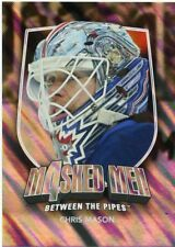 11/12 BETWEEN THE PIPES MASKED MEN 4 SILVER MASK #MM-29 CHRIS MASON *48324
