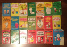 21 Vintage Peanut Books Two double books make total titles 23