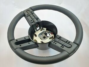 FORD MUSTANG 2005 2006 2007 2008 2009 10 STEERING WHEEL SHELBY GT500 BLACK NAPPA
