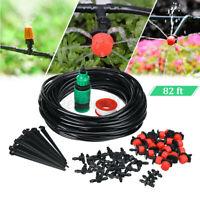 25M Automatic Drip Irrigation System DIY Micro Sprinkler Garden Watering   q