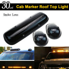 Smoke Lens 30LED Cab Marker Roof Clearance Lights Assembly for 02-07 GMC Chevy