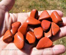 10 x Red Jasper Tumblestones 18mm-22mm A Grade Crystal Gemstone Wholesale Bulk