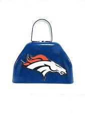 Denver Broncos Cowbell SuperBowl 50 Blue #1 NFL Small Souvenir New