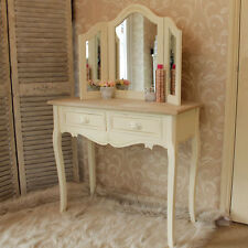 Country Dressing Tables with 2 Drawers