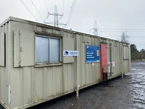 32ft X 10ft Site Office Canteen, Drying Room, Office, Staff Room, Containe