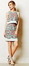 Anthropologie Maeve Manolya Linen Pencil Skirt Sz 8 EUC