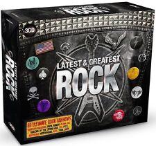ROCK-LATEST & GREATEST 3 CD NEU BOX-SET LIZZY THIN/THE TROGGS/CHER/RUSH/FREE