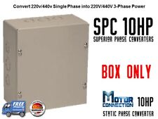 Static Phase Converter - 10 HP - Create 3 Phase Power from Single Phase Supply!