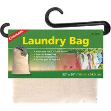 Coghlan's Saco para roupa suja, lavável 100% algodão natural, Cabo Com Cordão-Lock