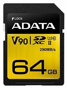 ADATA Technology Premier ONE SDXC UHS-II Class10 64GB ASDX64GUII3CL10-C